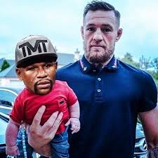 Floyd Mayweather Meme - conor mcgregor meme floyd mayweather as a baby posters by balzac