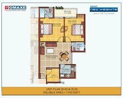 1100 sq ft unit floor plan 1100 sq ft
