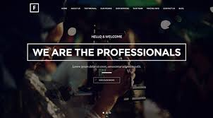 wp themes video background flip flipping page one page wordpress theme pagespeed score 61