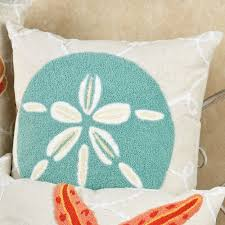Throw Pillows by Washed Ashore Beach Themed Decorative Pillows