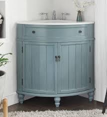 chic bathroom vanity corner in home decoration for interior design