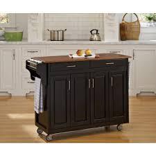 create a cart warm oak kitchen cart with salt u0026 pepper granite top