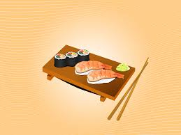 sushi menu for powerpoint ppt backgrounds foods u0026 drinks