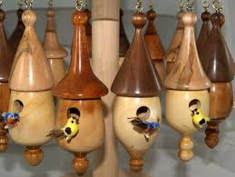 miniature birdhouse ornaments by calgarybill lumberjocks