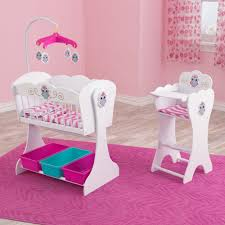 owl theme wooden cradle and highchair doll set u2022 owl delights