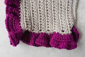 how to crochet borders and edging 30 crochet tutorials