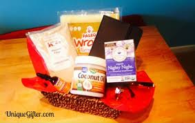 paleo gift basket how to make a paleo gift basket giveaway unique gifter