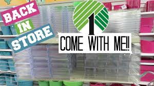 dollar tree makeup containers come with me youtube