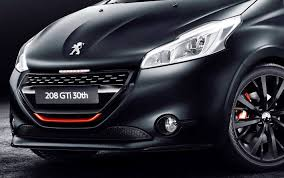 peugeot 208 gti the new peugeot 208 gti 30th paradise garage service and parts