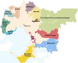 Councils Of Melbourne Map Green Wedges