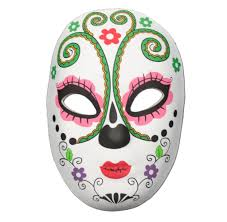 mardi gras halloween costumes shop for day of the dead masquerade masks at simply party supplies