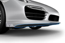 porsche 911 front technology explained porsche active aerodynamics total 911