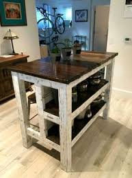 primitive kitchen island handmade rustic kitchen island with reclaimed pallet lumber