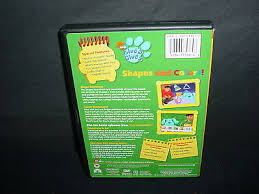 blues clues shapes colors dvd movie widescreen u0027s worth