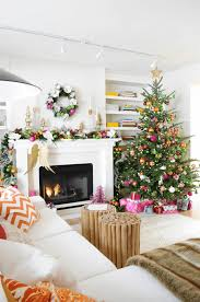 christmas home decors mantel decorating ideas freshome