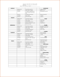 Grocery List Word Template 5 Grocery List Organizer Authorizationletters Org