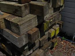 should i use railroad ties in my garden u2013 alternatives to railroad