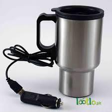 heated coffee mug heated stainless steel car coffee mug with charger lootlo pk