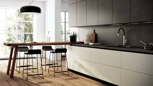 kitchen scenery scavolini like handless drawers angled legs for