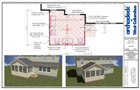 covered porch plans how big should your columbus screened porch be to accommodate your