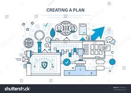 floor planning finance creating plan time management optimization work stock vector