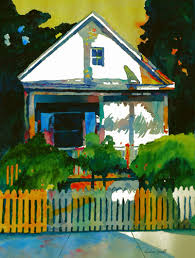 conch house contemporary painting conch house key west original art from
