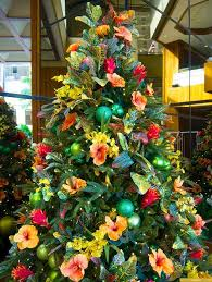 hawaiian style trees and decorations photos go visit