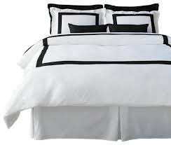 Gray White Duvet Cover Lacozi Boutique Hotel Collection Black Duvet Cover Set Modern