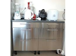 meuble cuisine inox pas cher prix porte de cuisine cuisines francois