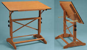 Wood Drafting Table Wooden Drafting Table With Drawers Into The Glass Decide To