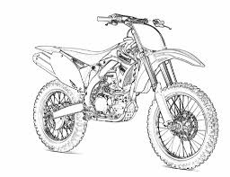 printable motorcycle coloring pages preschoolers