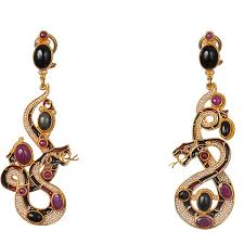 percossi papi earrings diego percossi papi snake earrings dg 1955 available at lovemyswag