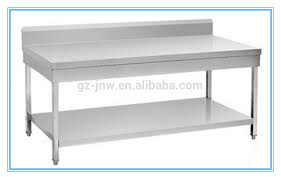 Steel Kitchen Table  Home Design And Decorating - Stainless steel kitchen tables