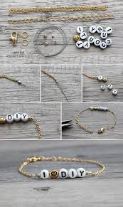 make bracelet with name images 32 cute easy diy jewelry crafts styles weekly jpg