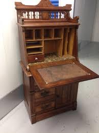 Victorian Secretary Desk by Renaissance Revival Or Eastlake Secretary Walnut Or Mahogany