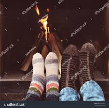close romantic legs couple socks front stock photo 218693881
