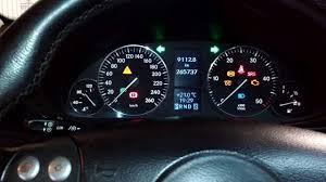 mercedes dashboard mercedes w203 cdi dashboard test youtube