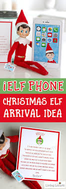 printable elf on the shelf arrival letter elf phone printable and welcome back elf arrival letter from the