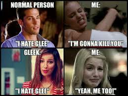 Glee Memes - follow my instagram millennium snitch glee pinterest glee