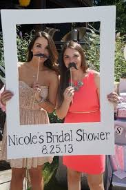 photo booth idea for bridal shower entertainment see more