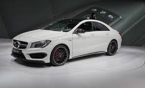 mercedes 45 amg white 2014 mercedes cla45 amg photos and info car and driver
