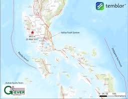 Luzon Map Earthquake Strikes The Philippines And Shakes Manila Temblor Net
