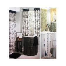 bathroom essentials window treatment shower curtains sink