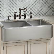 double bowl farmhouse sink with backsplash kitchen dining awesome creme kitchen cabinet with double bowl