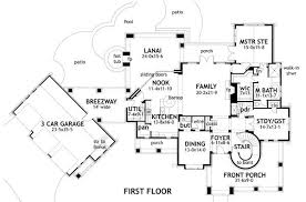 Foyer Plans L U0027bella Liza 2325 4 Bedrooms And 4 5 Baths The House Designers
