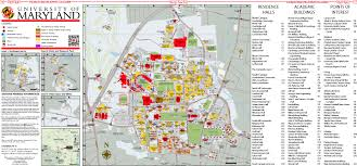 Virginia Tech Campus Map by Orientation Guide The Diamondback