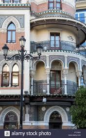 Moorish Architecture Moorish Architecture In Seville Spain Stock Photo Royalty Free