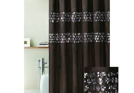 Shower Curtain Contemporary Curtains Uncommon Black And Silver Sequin Curtains Contemporary