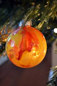 painted clear ornament whats ur home story