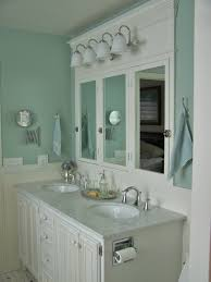 creative ways to decorate your farmhouse bathroom blue walls